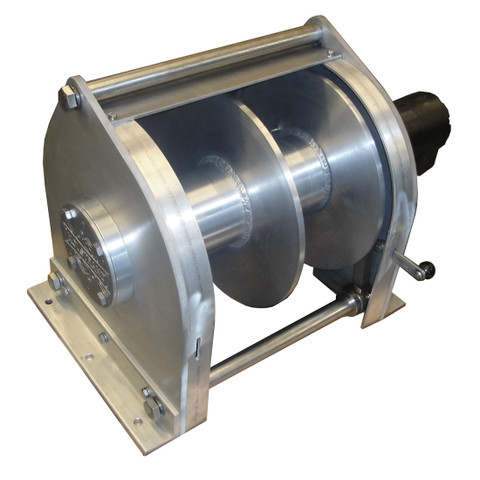InMac-Kolstrand AKPW18D8W8W-D9 Special Aluminum Winch with Split-Drum