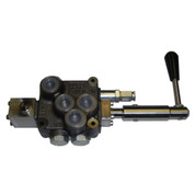 Kolstrand Compact Hydro Control Rotary Valve Assembly - D10 with Motor Spool for 15 GPM Circuits