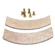 Kolstrand Replacement Brake Linings with Rivets - for Nylon Multi-Spool Gurdy