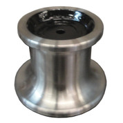 "Kolstrand 5"" 316 stainless steel capstan with 1-1/4"" bore and 5/16"" Keyway"