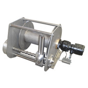 InMac-Kolstrand AKPW16D14.3W-ULW-BRAKE-RE21 Special Aluminum Winch with Diamond Screw Level Wind