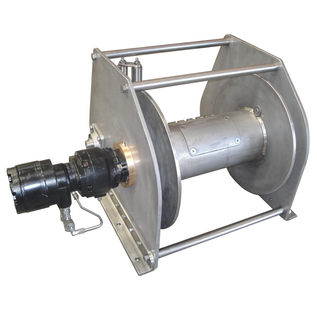 InMac-Kolstrand AKPW16D14 3W-DLW-BRAKE-RE21 Special Aluminum Winch with  Diamond Screw Level Wind