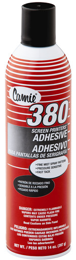 Camie 380 pressure sensitive pallet adhesive, 14 oz spray can