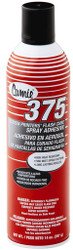 Camie 375 Aerosol Flash Cure Adhesive, 14 oz spray can.