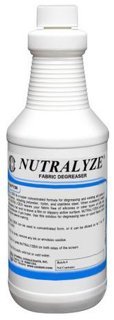 Nutralyze Fabric Degreaser Quart