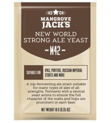 Mangrove Jack's CS Yeast M42 - New World Strong Ale (10g)