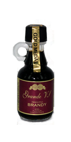 Gold Medal Grande VS Brandy - Glass