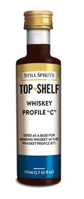 Top ShelfWhiskey Profile C
