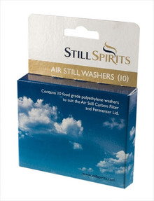 Still Spirits Air Still Washers. 10 Item Code 50310