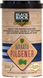 Black Rock Crafted Wakatu Pilsener Beer Kit 1.7kg Item Code 10148