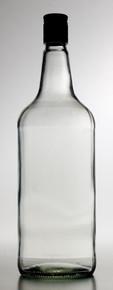 Glass Spirit Bottles & Metal Spirit Caps. 1125ml x 12
