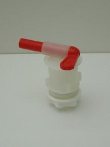 Tap. Italian Barrel & Locknut (med.spigot)