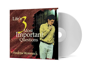 CD Album - Life's 3 Most Important Questions