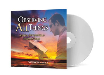 CD Album - Observing All Things