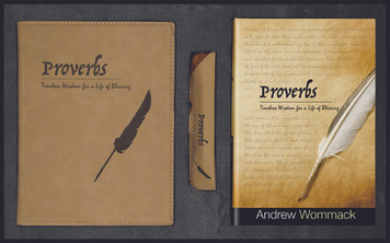 Proverbs Gift Package