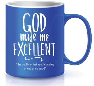 Blue Mug - Excellence