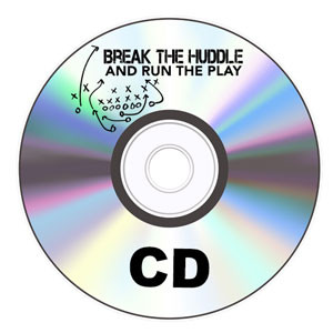 Single CD - Break the Huddle and Run the Play - James Brown