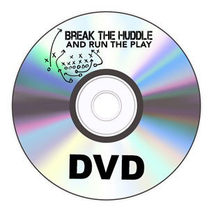 Single DVD - Break the Huddle and Run the Play – James Brown