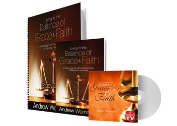 Living in the Balance of Grace & Faith - DVD Package