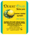 Jojoba Oil Lemon Lip Balm with Beeswax, all natural, over 70% cold pressed jojoba oil and mildly scented with Lemon, 2 Lip balms (.15 oz/4.6 gm) 2 units