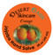 Jojoba Oil Orange Hand Salve, made from all natural, cold pressed and undeoderized jojoba oil and mildly scented with Orange, 2 oz (60 gm)