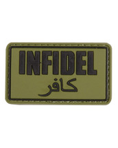 Tactical Patch Infidel Patch in green