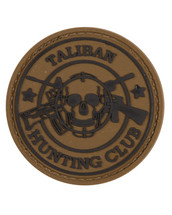 Tactical Patch Taliban Patch in tan
