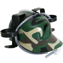 Camouflage Drinking Hat