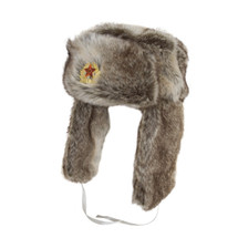 Russian Cossack Hat in Grey