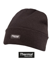 Thermal insulated Bob Hat in Black