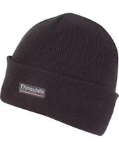 Thinsulate Bob Hat in Black