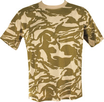 Kombat T-shirt in British Desert camo