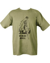 Kombat D-Day Doll T Shirt