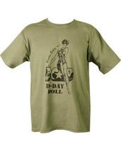 Kombat D-Day Doll T Shirt