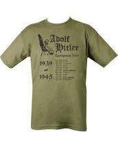 Kombat Hitler's European Tour T Shirt