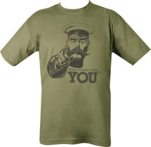 Kombat Kitchener Army T-Shirt - Your Country Needs You