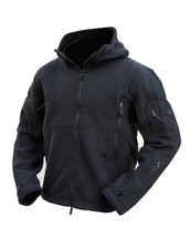 Kombat Tactical Recon Hoodie in black Zipped and Fleece Jacket