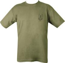 Kombat SAS T-Shirt Who Dares Wins in Green