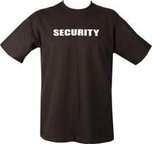 Kombat Security T-Shirt in black