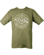 Kombat Taliban Hunting Club T-shirt in Olive Green