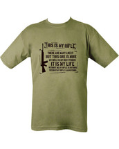 Kombat This is my Rifle T-shirt in Green