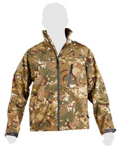 Kombat Trooper Soft Shell Shark Skin Jacket in btp