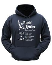 Kombat Hitler Euro Tour Hoodie in Black