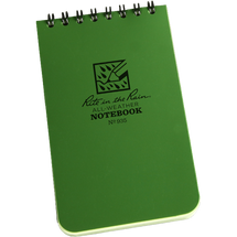 RITR Pocket Notebook Green