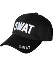 Kombat Baseball Cap S.W.A.T in Black