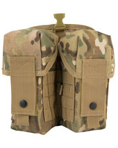 Kombat Double Ammo Molle Pouch in Multicam