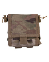 Kombat Folding Ammo Dump Pouch in Multicam