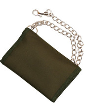 Kombat Military Wallet in Olive Green