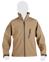 KOMBAT TROOPER - Tactical soft shell jacket (Coyote)