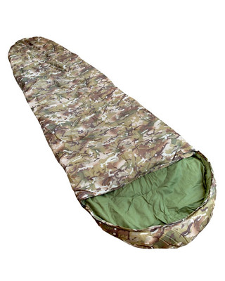 Kombat Military Sleeping Bag in BTP Camo